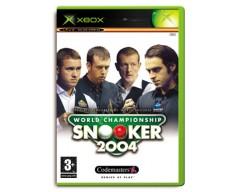 World Championship Snooker 2004 (XBOX - Μεταχειρισμένο)