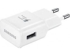 Samsung micro USB Cable & Wall Adapter Λευκό (ETA-U90EW & ECB-DU4AWE) (Bulk)