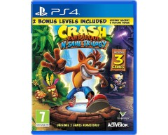 Crash Bandicoot N. Sane Trilogy (PS4 - Μεταχειρισμένο)
