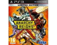 Anarchy Reigns (Limited Edition) (PS3 - Μεταχειρισμένο)