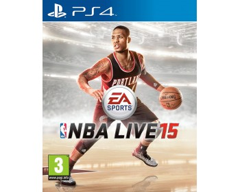 NBA LIVE 15 ps4 (PS4 - Μεταχειρισμένο USED)