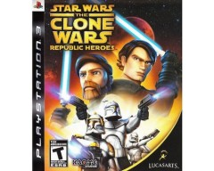 Star Wars The Clone Wars Republic Heroes (PS3 - Μεταχειρισμένο)