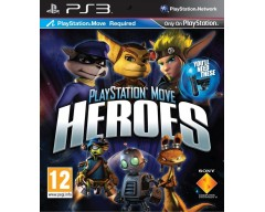 PlayStation Move Heroes- Move Required (PS3 - Μεταχειρισμένο)