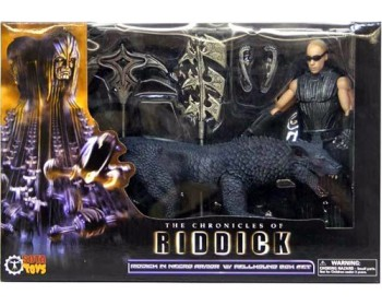 The Chronicles of Riddick Riddick in necro armor