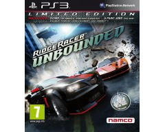Ridge Racer Unbounded (Limited Edition)  (PS3 - Μεταχειρισμένο)