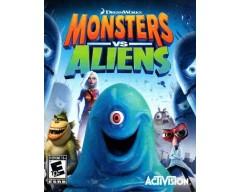 Monsters Vs Aliens (PS3 - Μεταχειρισμένο)