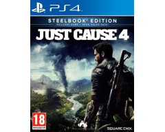 Just Cause 4 (Steelbook Edition) (PS4 - Μεταχειρισμένο USED)