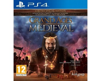 Grand Ages Medieval (Limited Special Edition) (PS4 - Μεταχειρισμένο USED)