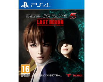 Dead or Alive 5 Last Round (PS4 - Μεταχειρισμένο USED)