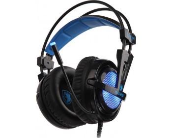 SADES Gaming Headset Locust Plus, USB, 7.1CH με 40mm ακουστικά SA-904