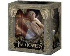 LOTR The Lord of The Rings - The Two Towers - with Gollum Figure DVD Collector's Gift Set - ΜΕ ΕΛΛΗΝΙΚΟΥΣ ΥΠΟΤΙΤΛΟΥΣ