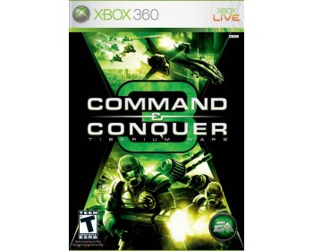 Command and Conquer 3 Tiberium Wars (XBOX360 NEW)